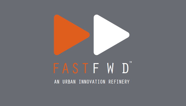 fastfwd logo on gray