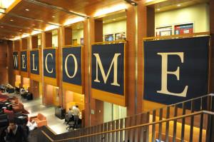Wharton's Jon M. Huntsman Hall welcomes prospective students.