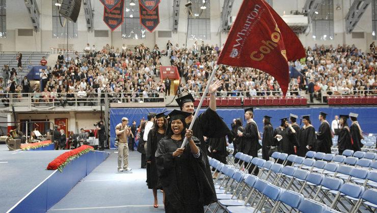 wharton mba graduation