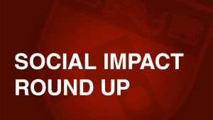 Social Impact Round Up red