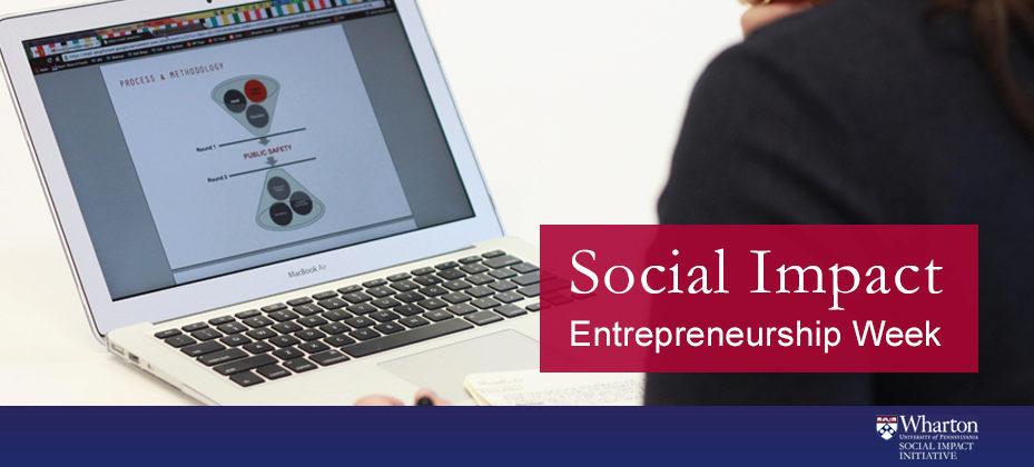Impact Entrepreneurship Week 1