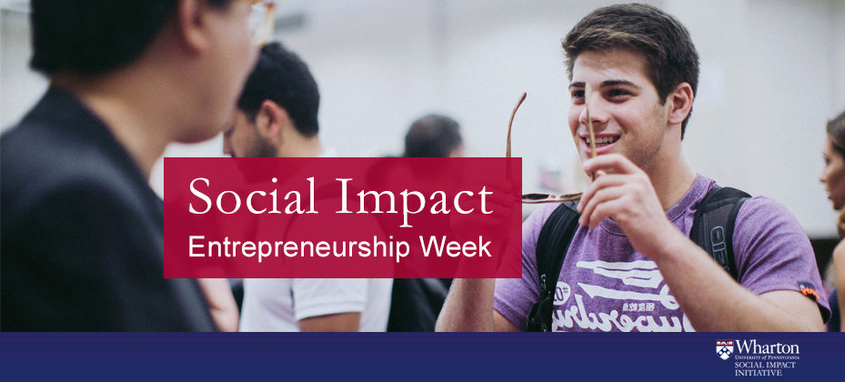 Impact Entrepreneurship Week 4
