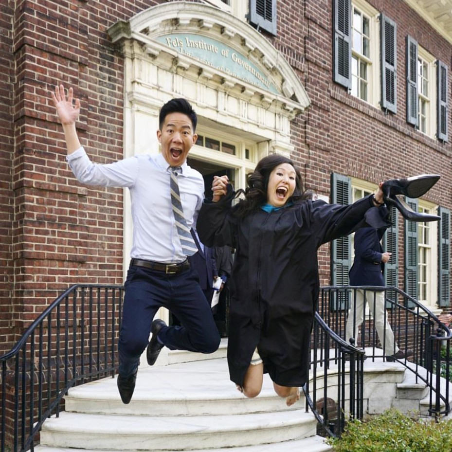 Jason Yow, WG'15 and Stephanie Kim, MPA '16
