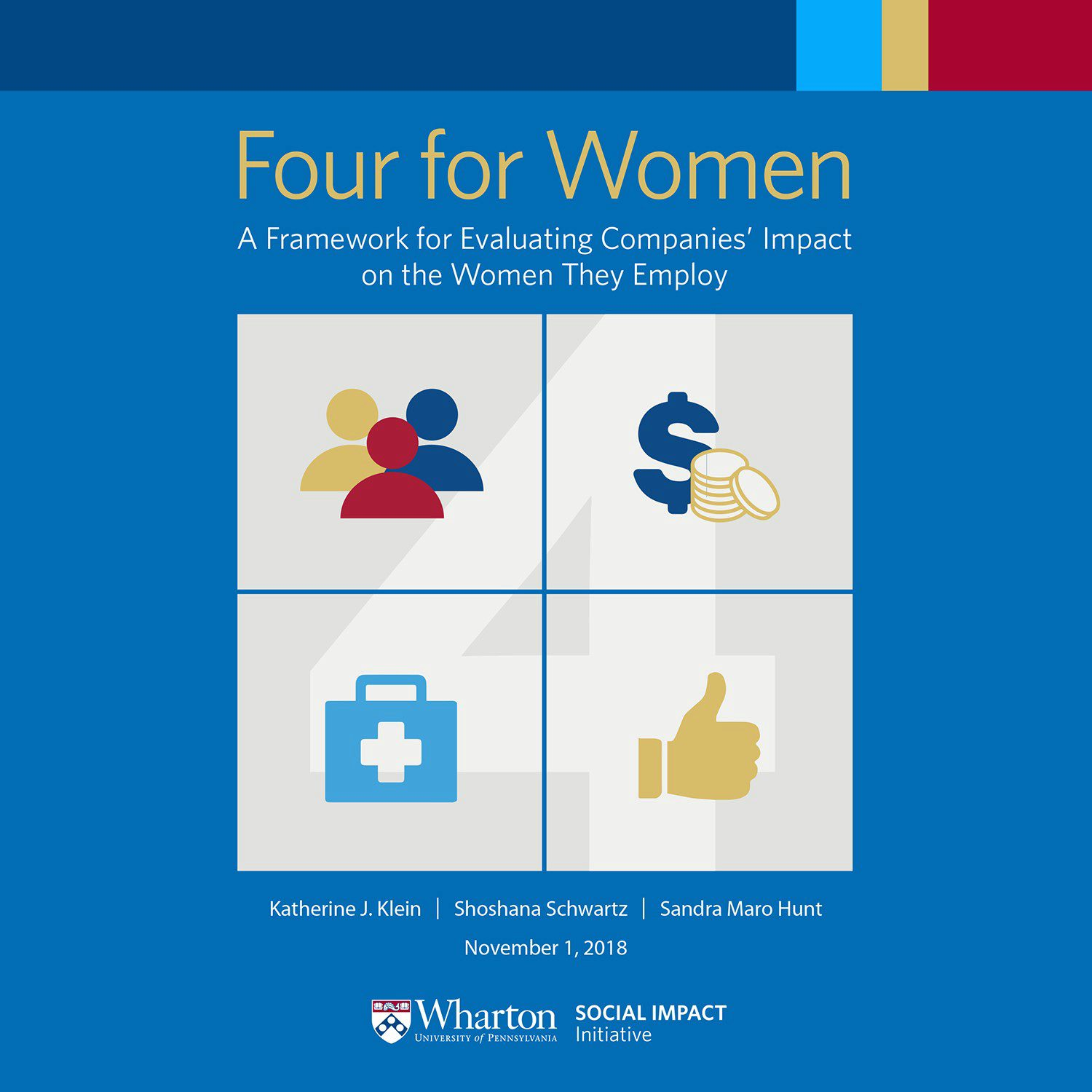 Four for Women front cover