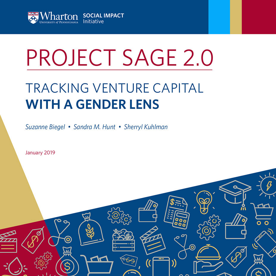 front cover of the project sage report with the title and authors