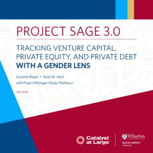 cover of WSII report Project Sage 3.0